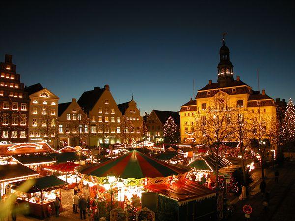 Julmarknad Lüneburg