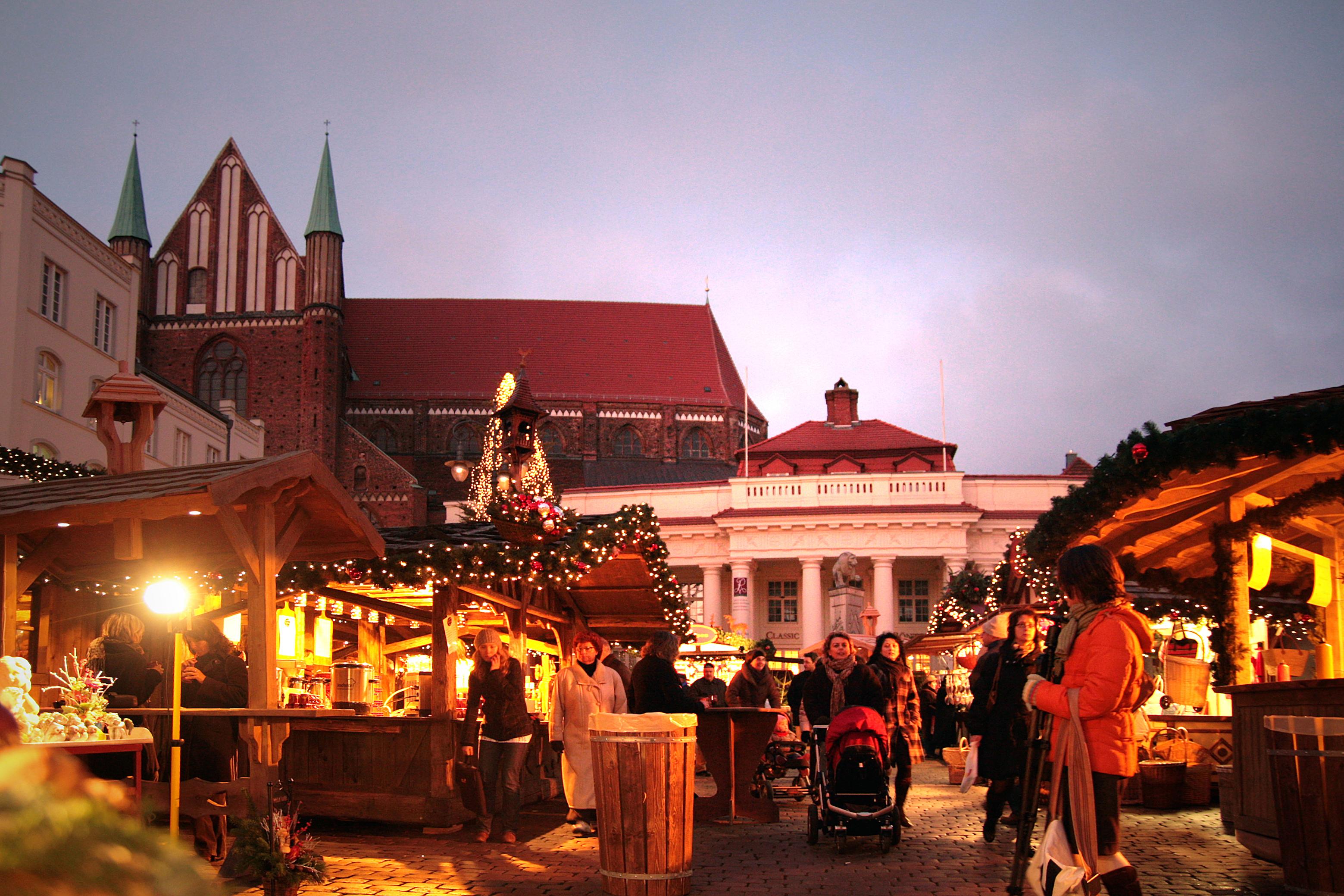 Julmarknad Schwerin 4-ecember 2020